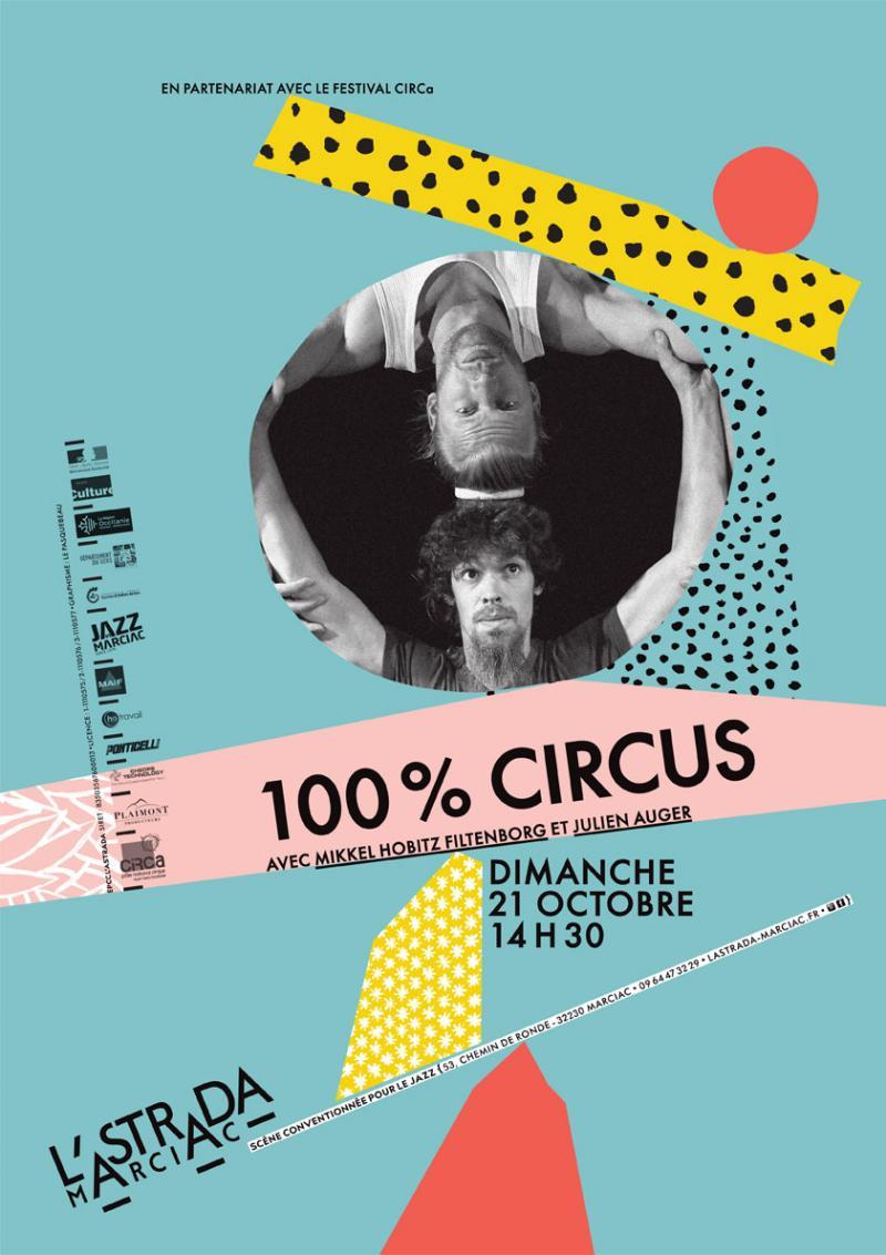 « 100% Circus », en partenariat avec CIRCa