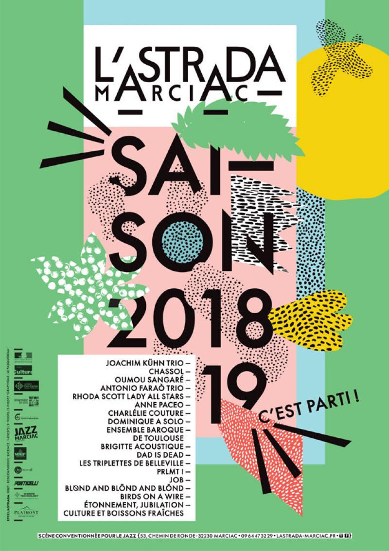 Saison 2018‐2019 à L'Astrada Marciac : c'est parti !