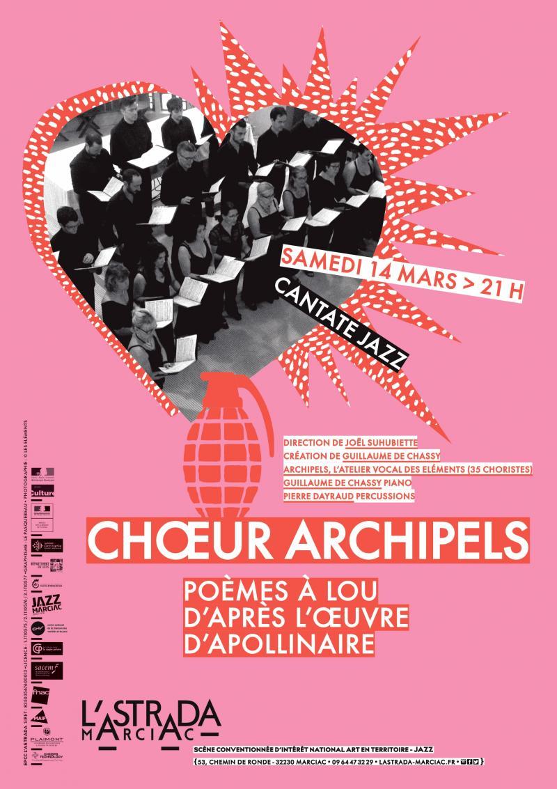 """Chœur Archipels """"Poèmes à Lou"""""""