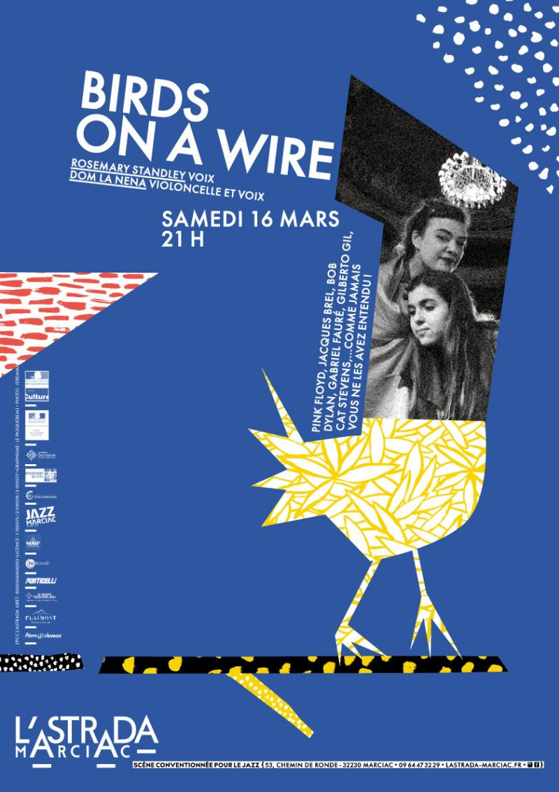 Birds on a Wire : Rosemary Standley et Dom la Nena