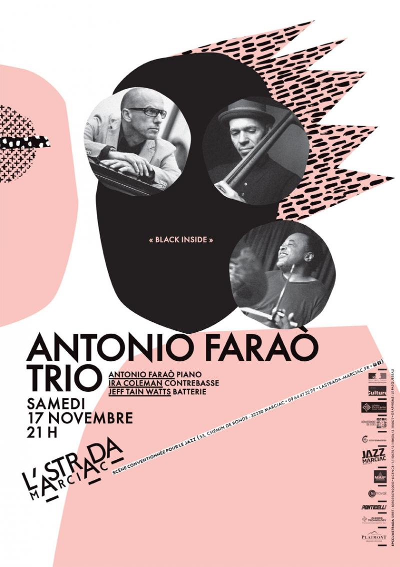 "Antonio Faraò Trio ""Black Inside"""
