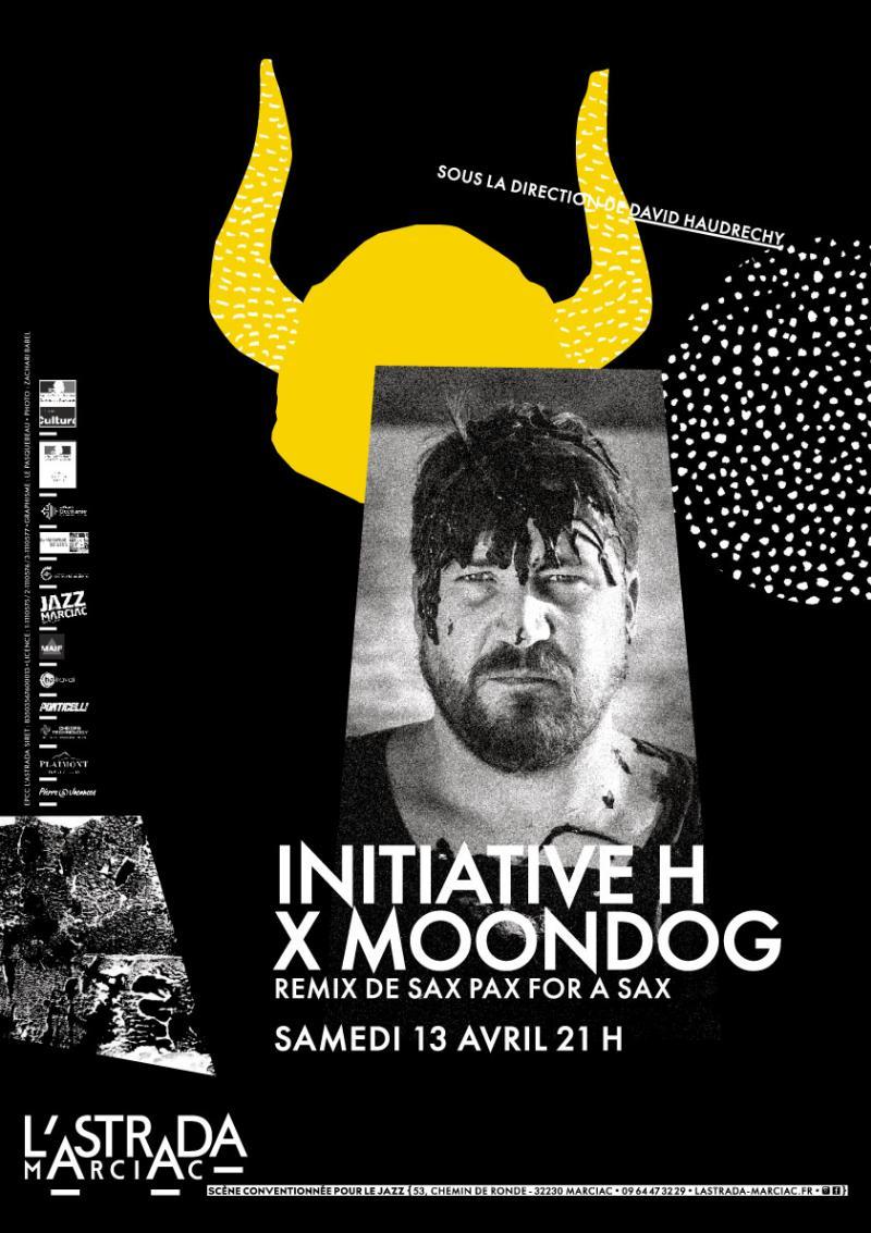 "Initiative H x Moondog remixe ""Sax Pax For A Sax"""