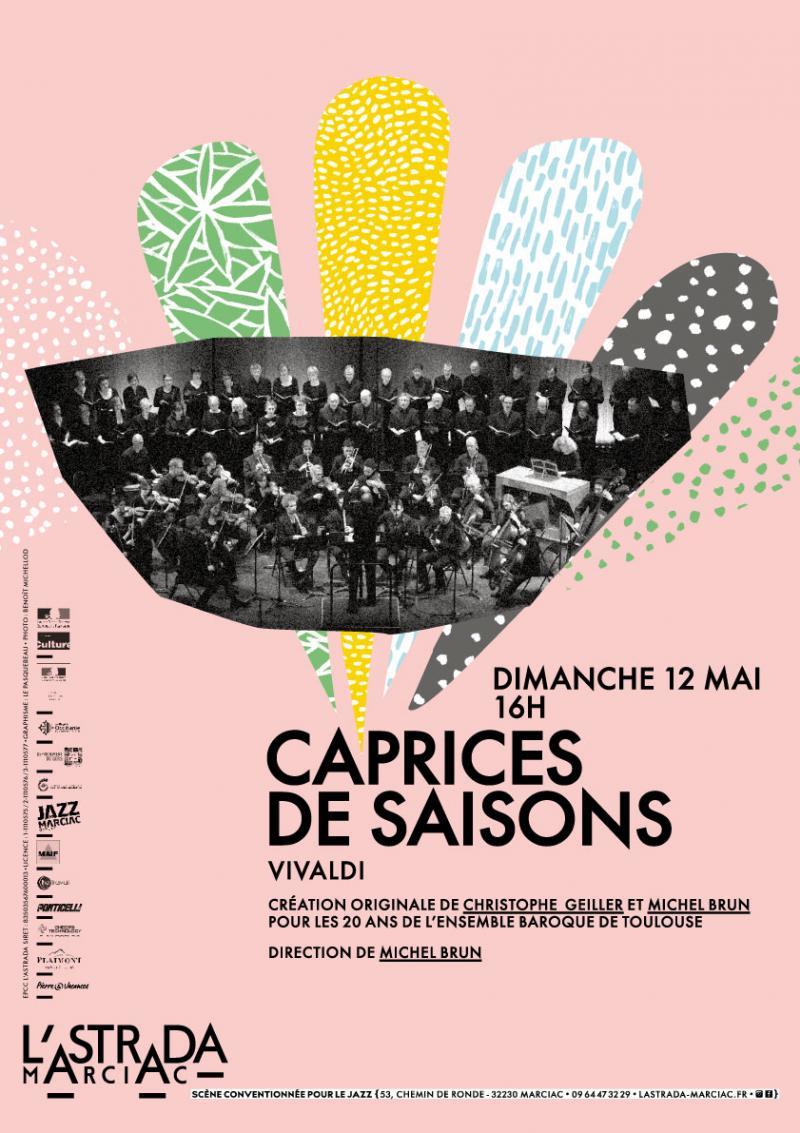 L'Ensemble Baroque de Toulouse : création originale autour des célèbres Quatre Saisons de Vivaldi !