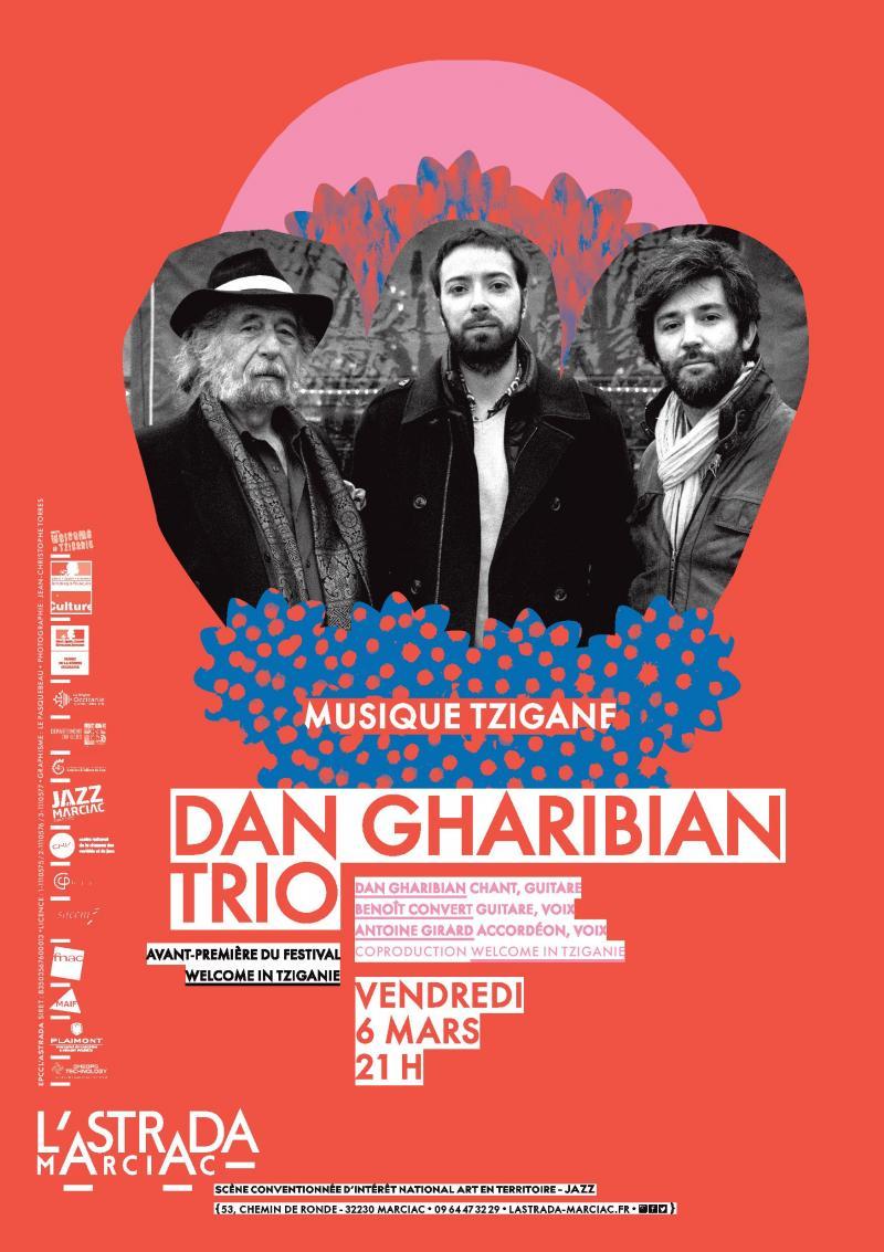 Dan Gharibian Trio - Avant-première du Festival Welcome in Tziganie