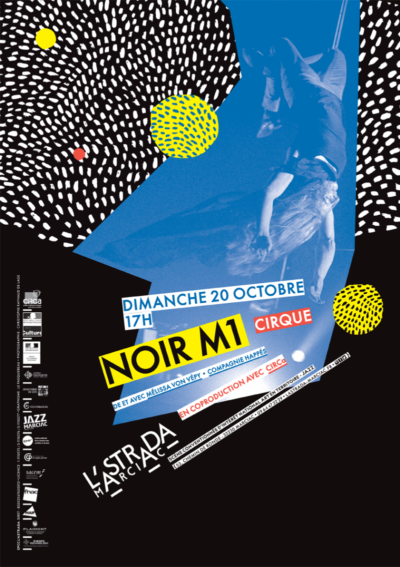 NOIR M1 De et avec Melissa Von Vépy • Cie Happés